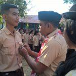 Pelantikan Siswa Baru Menjadi Anggota Pramuka SMANSA RBL